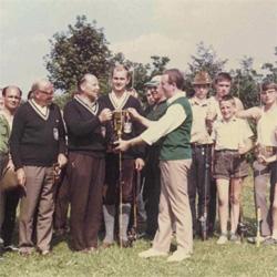 Siegerehrung Castingturnier 1968